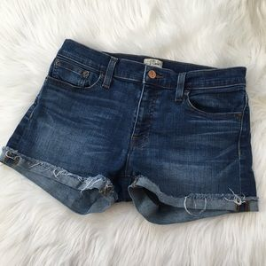 J. Crew Denim Shorts Merrill Wash Size 27